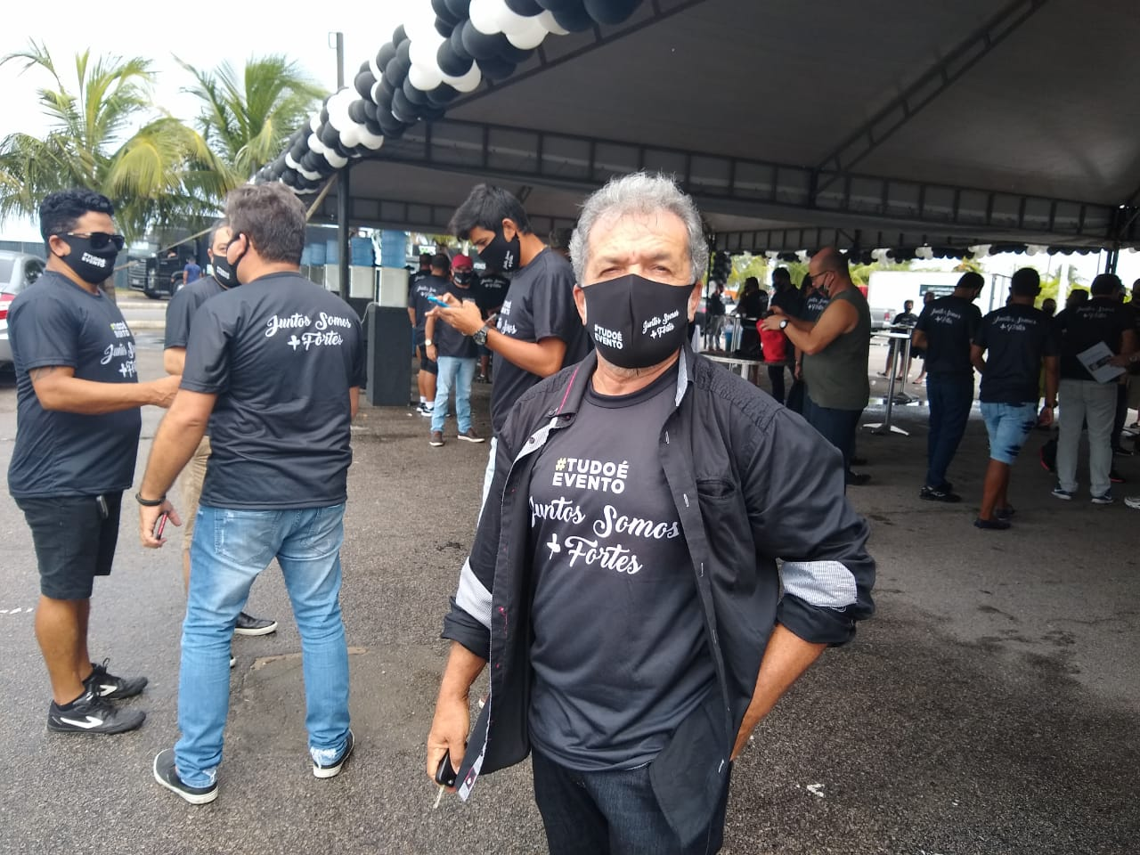 O empresário da banda Arroxonados Oficial, Eudes Cavalcante